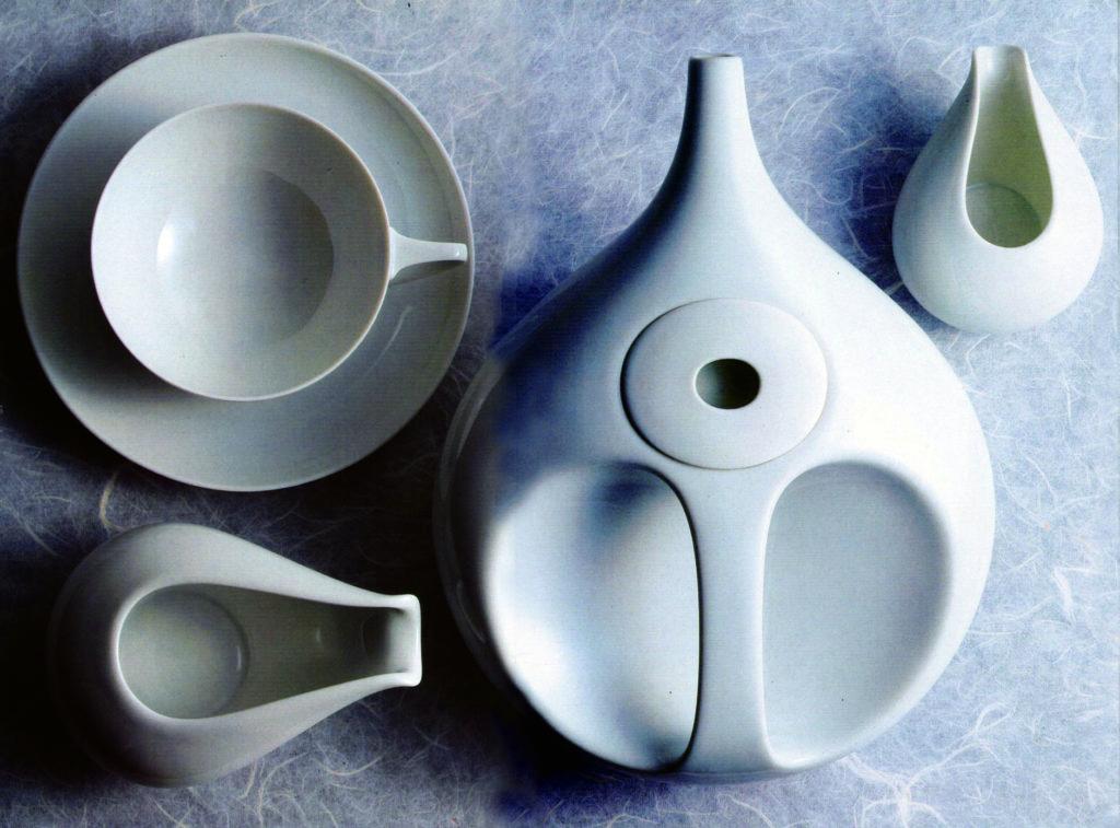 Чайный сервиз Drop, Rosenthal, 1971.