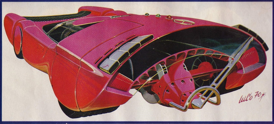 Луиджи Колани — один из самых отвязных фриков автомобильного дизайна, изображение №22