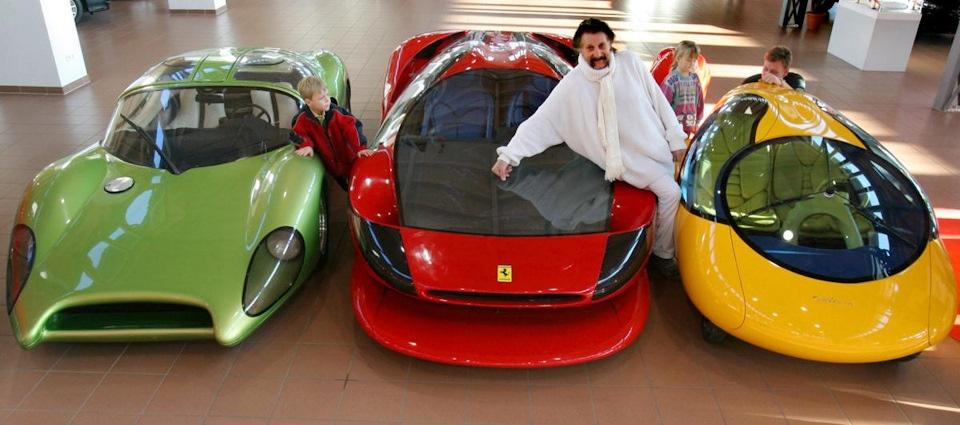 Луиджи Колани — один из самых отвязных фриков автомобильного дизайна, изображение №14